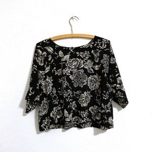 House of Harlow 1960 Floral Crop Top